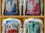 Camisetas calvin klein lindas