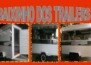 Vende-se trailers lanche e carrinhos