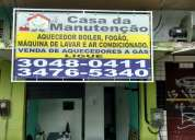 ConversÃo de fogÃo conserto de maquina de lavar em copacabana rj