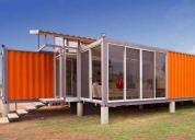 Linda casa container 30 m² - pronta pra morar