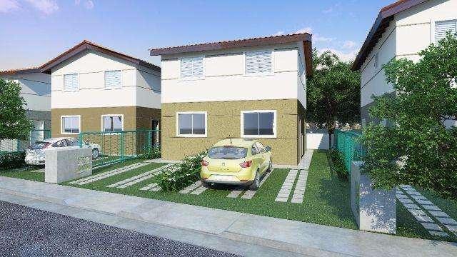 residencial vivere em cotia, são 94 sobrados com 53m²