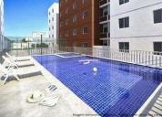 Lindo apartamento em belford roxo com 2 quartos e piscina