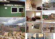 Muito bom investimento green park ii- casas duplex 2 qts com projeção para o terceiro