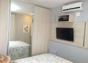 Apartamento completo com armários 2 quartos