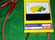 Teste de bateria e alternador tbk 200 - kitec, contactarse.
