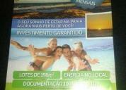 Excelente lotes mais barato do brasil