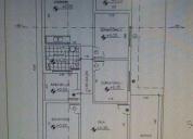 Desenho projeto de construção civil.