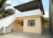 Excelente casa de 2 quartos e terraço em santíssimo
