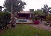 Uma bela casa de frente para a lagoa, contactarse.