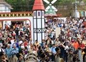 Oportunidade! lugar para ficar na bauernfest
