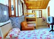 Kitinetes e suites mobiliadas