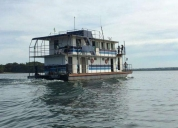 Excelente barco hotel completo p/morar