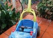 Compro carrinho de passeio com enpurrador p bebê... menino