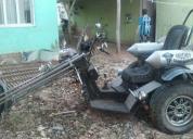 Vento triton triciclo personalizado com motor 1500cc.