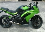 Aproveite!. kawasaki ninja 650 verde 2014 + abs aceito trocas  - 2014