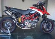 Excelente ducati hypermotard 1100 evo sp  - 2012