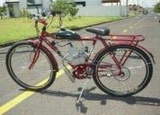Motor para bicicleta trasfome sua bike em uma moto bike