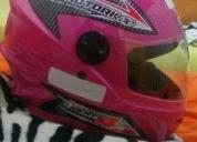 Excelente capacete rosa n58  - 2016