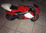 Oportunidade! mini moto gasolina  - 2013