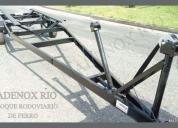 Reboque rodoviario de ferro para jet ski rj