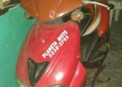 Vendo uma moto garine estilo biz125  - 2002, contactarse.