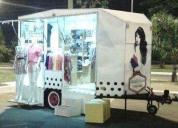 Excelente trailer boutique 1 eixo e com freio a disco. loja móvel  - 2015
