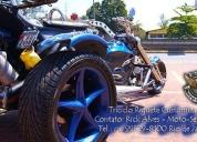 Excelente riguete trc-01 triciclo riguete customizado  - 2008