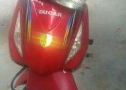 Hermoso moto ducar 2012  - 2012