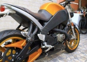 Buell lightning xb12s - laranja metalica