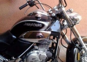 Venta de moto chopper amazonas 250 cc  - 2009