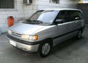 Oportunidade! mazda mpv 3.0 v6 1992 minivan  - 1992