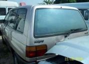 Mazda mpv 95 em peças motor cambio portas