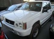 Mitsubishi l200 2.5 4x4 gl  - 2005, buen estado.