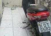 Vendo excelente moto pra sair do buzao  - 2012