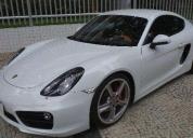 Porsche cayman s branco 2014
