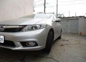 Honda civic 2.0 lxr flex one 2014