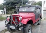 excelente jeep willys vermelho