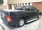 Ssangyong actyon sports 4x4 - diesel - automática.