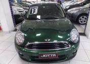 excelente mini - one 1.6 16v gasolina 2p automático/ 2013/ verde  - 2013