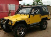 Vendo ou troco jeep 1.9 turbo diesel 96/96  - 1996, contactarse.