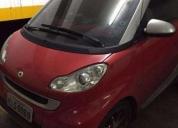 Excelente smart fortwo 1.0 cabrio turbo automático tritop  - 2010