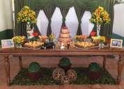 Buffet desejo - buffet à domicílio em guarulhos completo para casamentos, 15 anos, bodas etc...