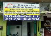 CONVERSÃO DE FOGÃO BOSCH DAKO BARRA DA TIJUCA