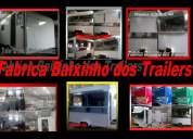 Vende-se trailer  e food trucks carrinhos de lanche
