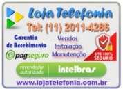 Conserto de pabx - interfones - cameras - intelbras - maxcom