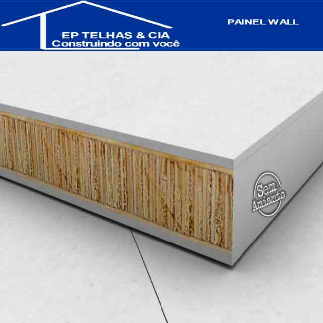Painel Wall - Placa Cimenticias - Mezanino