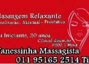 Massagem tântrica guarulhos  vanessinha massagista