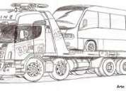 Assistência 24h para caminhões
