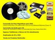 Converta seus velhos discos de vinil e fitas k7 em cd ou arquivo de mp3