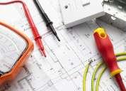 Orçamentos, projetos elétricos e instalações